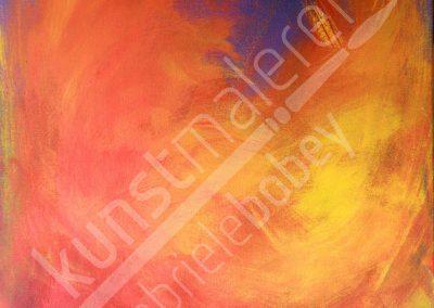 Wilde Strukturen erwachen durch Acrylmalerei abstrakt und modern