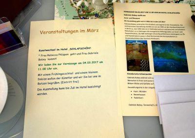 Acryl-und Ölmalerei Ausstellung im Hotel Schlafschön in Hann.Münden