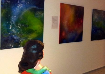 Ausstellungen-Acrylmalerei- Paderborn Libori Galerie 2013