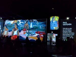 Multimedia Ausstellung visions alive in Berlin