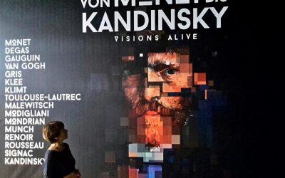 Von Monet bis Kandinsky – visions alive