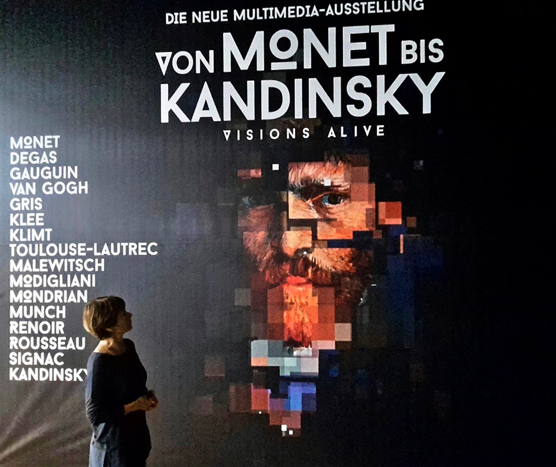 Von Monet Bis Kandinsky Visions Alive Die Neue Multimedia