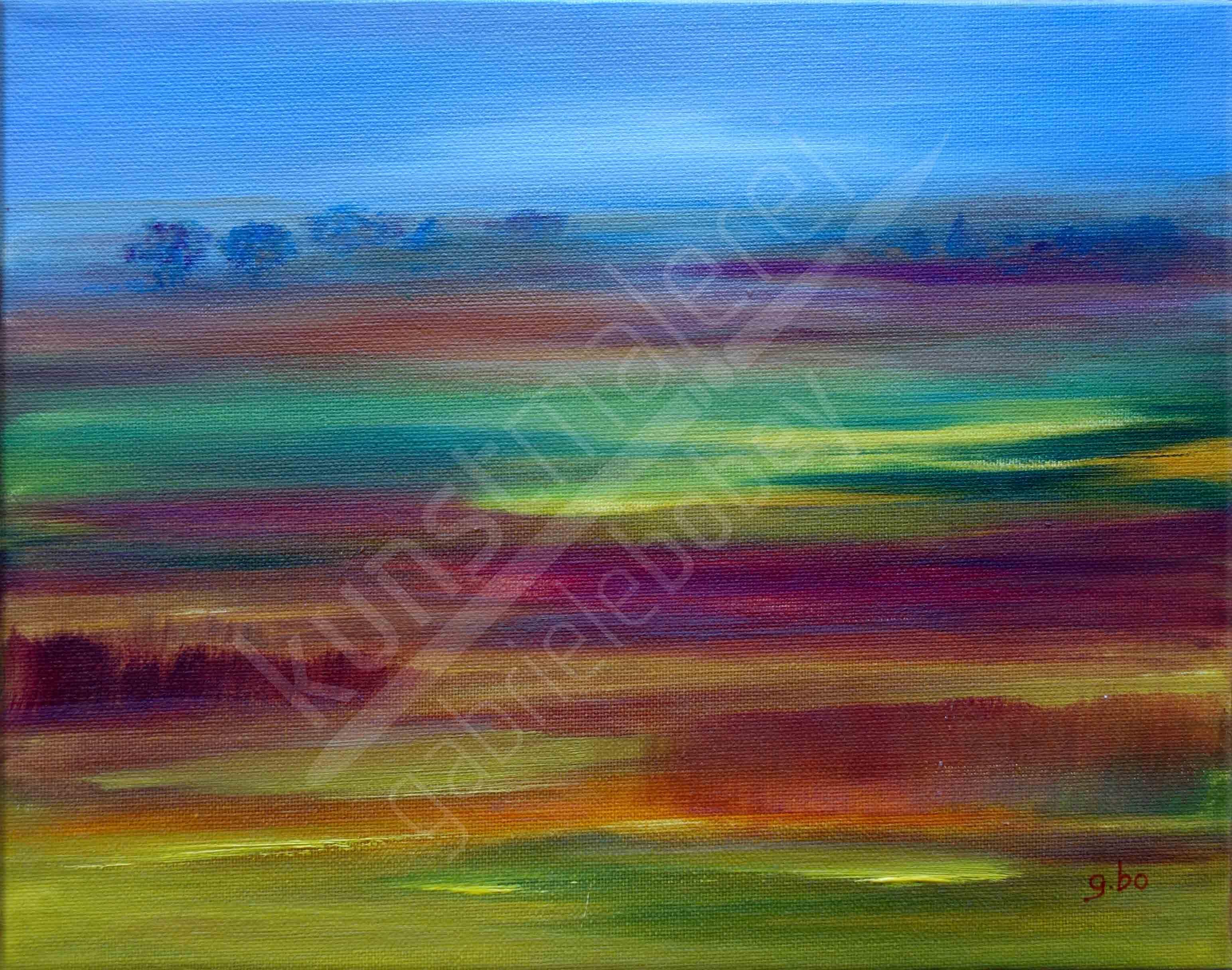 landschaftsmalerei acrylmalerei abstrakt