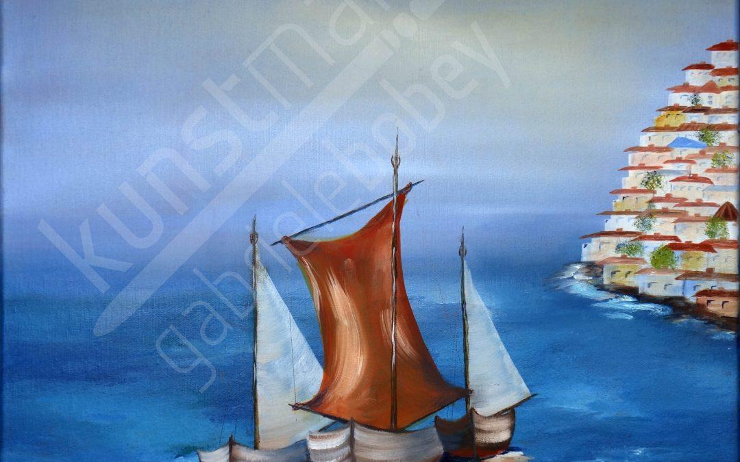 Maritime Ölmalerei