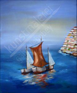 Maritimes Ölbild