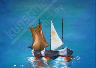 Ruhende Boote