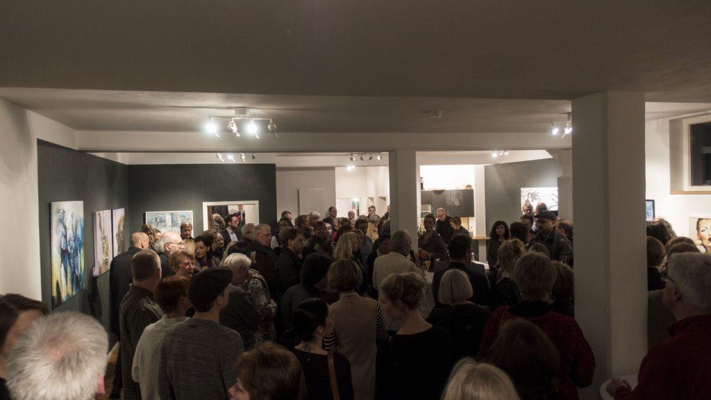 Vernissage der FEB23 in der Galerie Eisen Meurer vom Mündener Kunstnetz