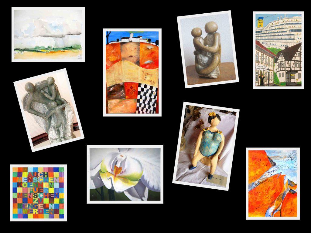 Malerei Textilkunst Skulpturen Dransfeld Kunst Werk