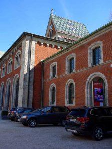 Das Gebäude der Kunstakademie Bad Reichenhall