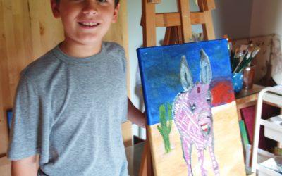 Malschule Abstrakte Acrylmalerei 2