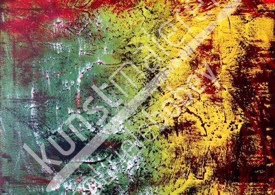 Acrylmalerei und Ölmalerei abstrakt